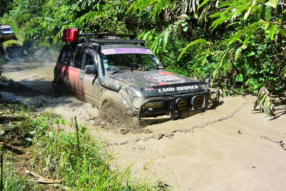 borneo offroad in Seimanggaris Forest