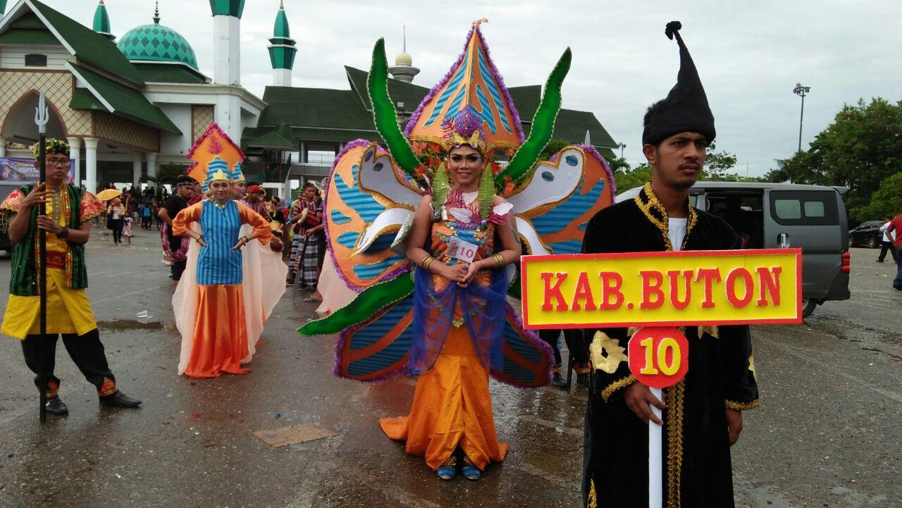 buton arts and culture parade