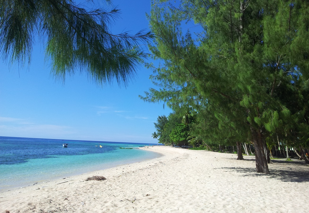 cemara beach in wakatobi islands