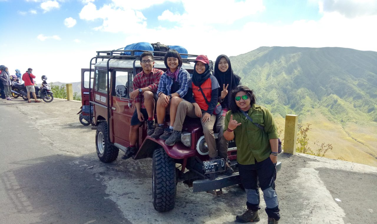 jeep rental to semeru post