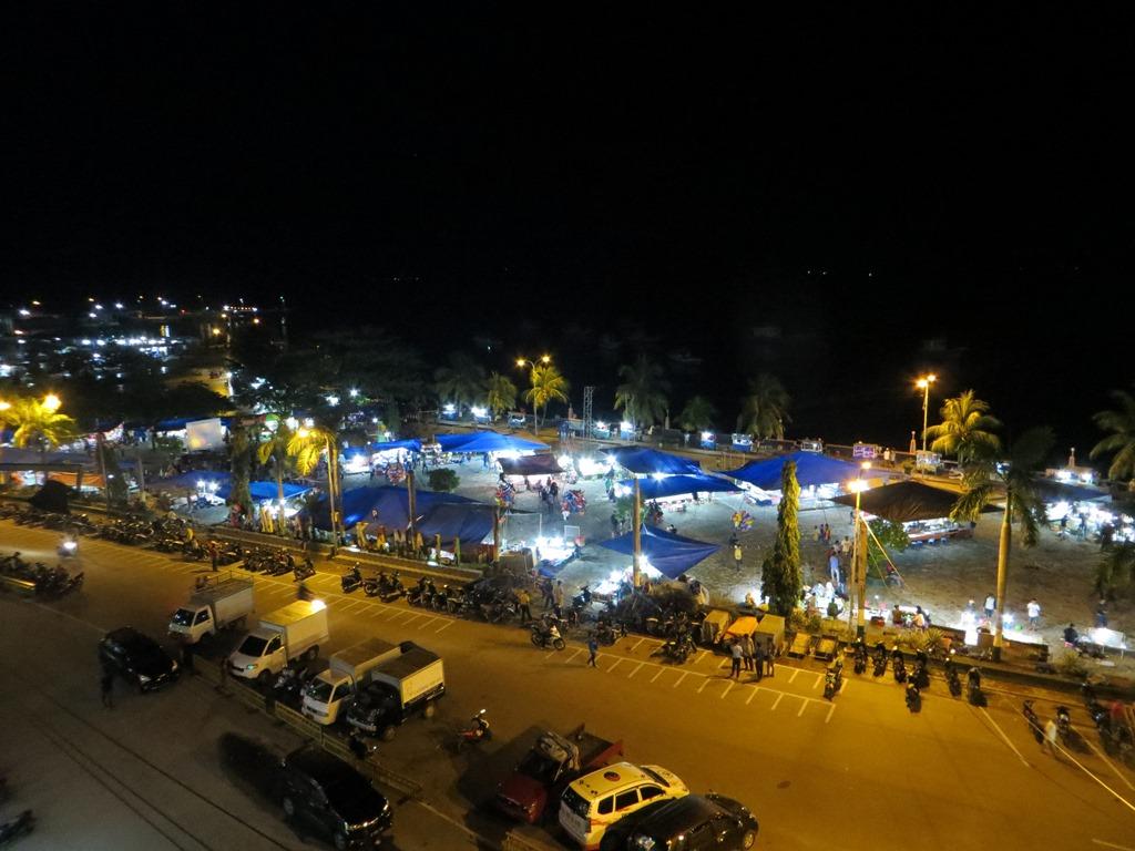 kamali beach in baubau city
