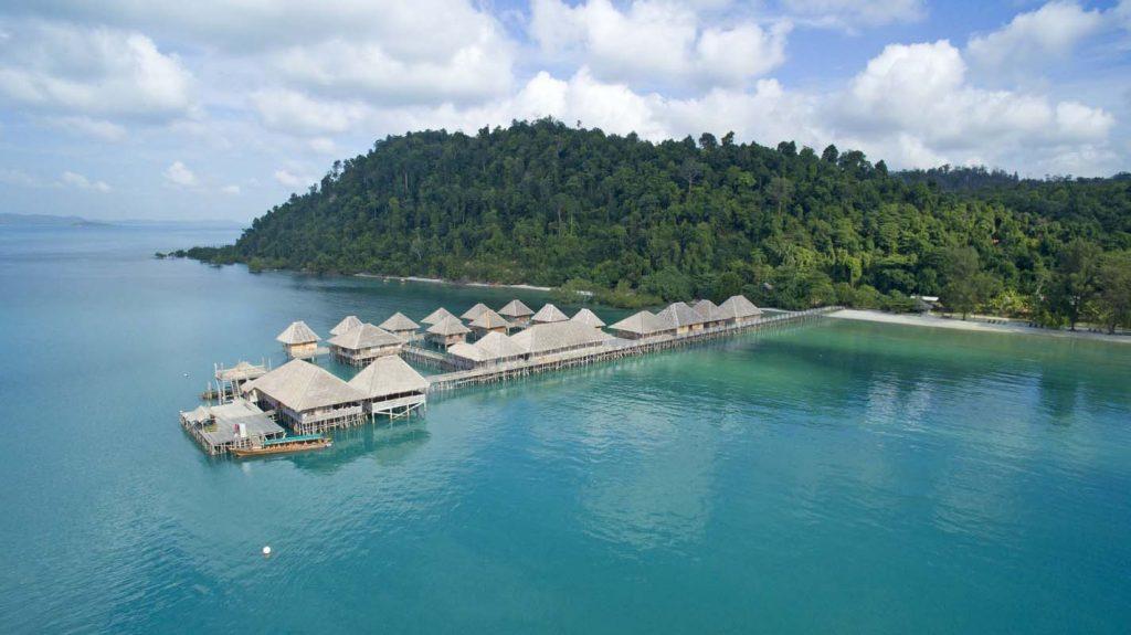 Telunas Beach Resort in Sugi Island Riau