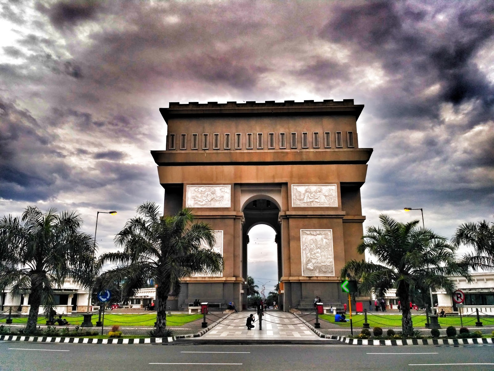 kediri town in east java province
