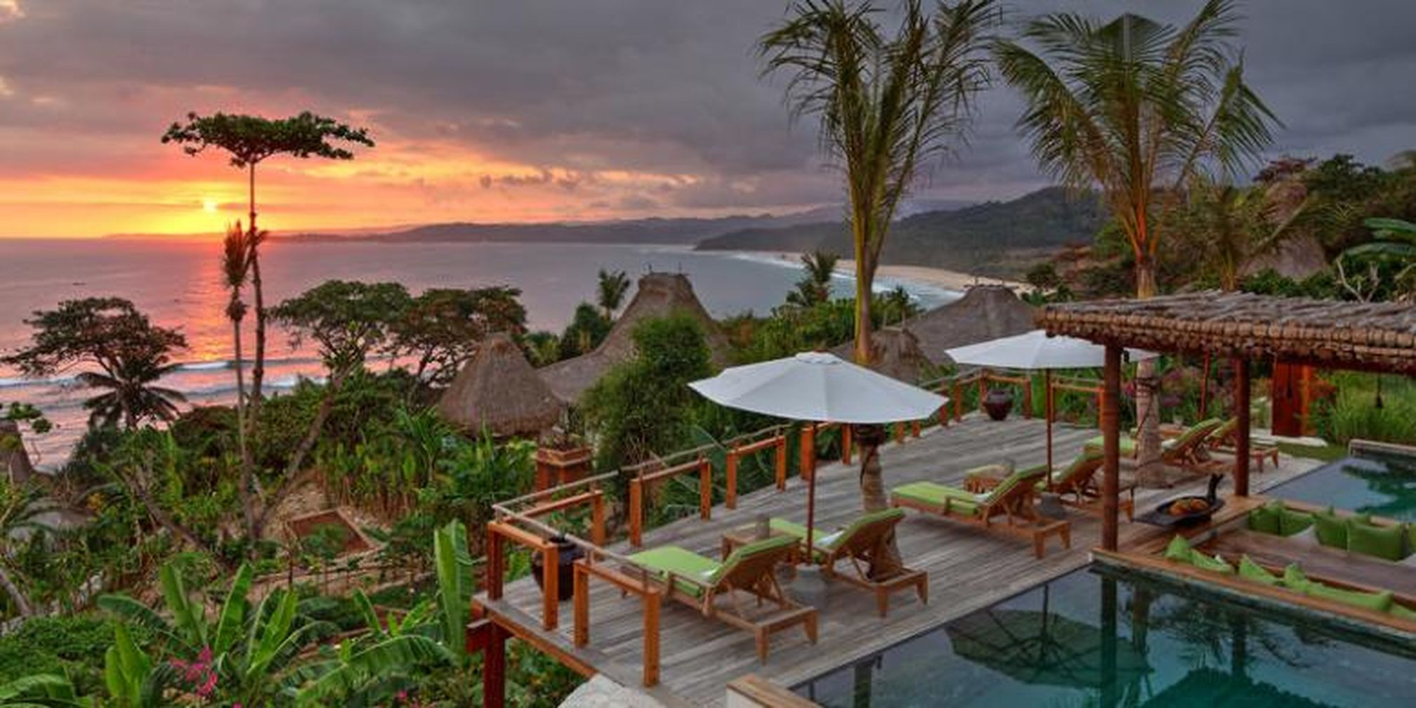 nihiwatu resort with beach view