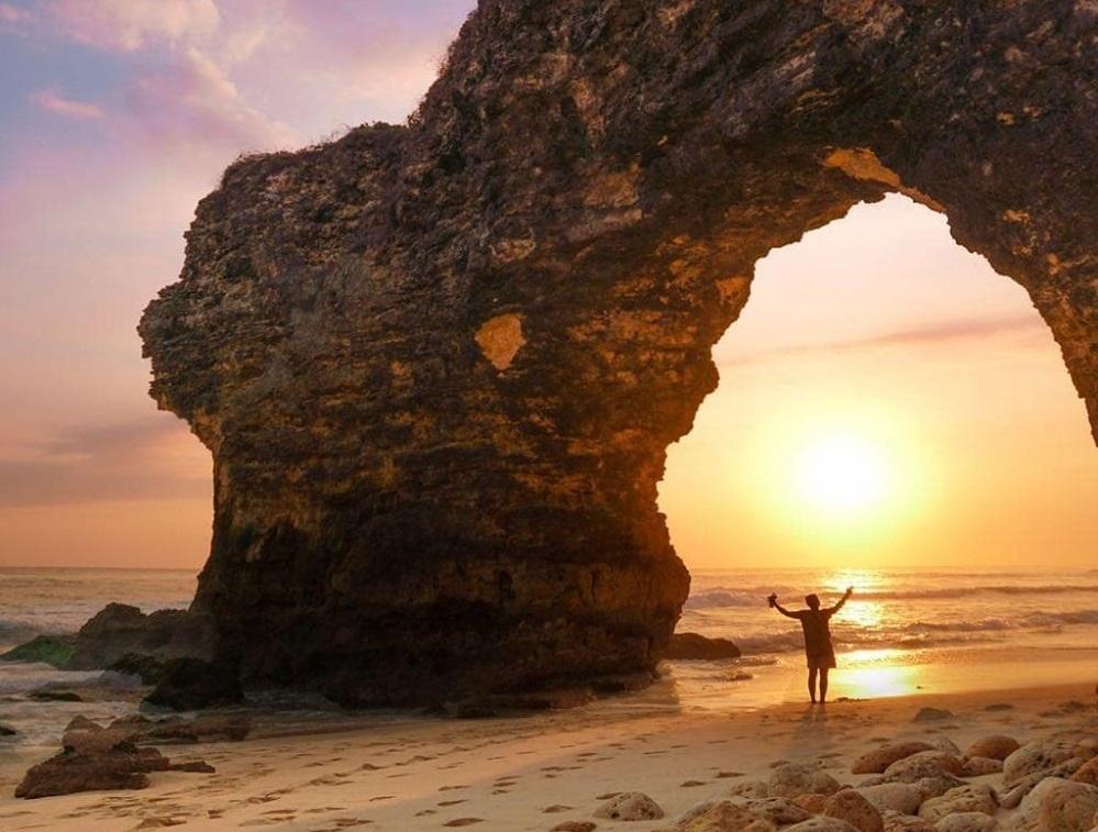 Image result for mbawana beach