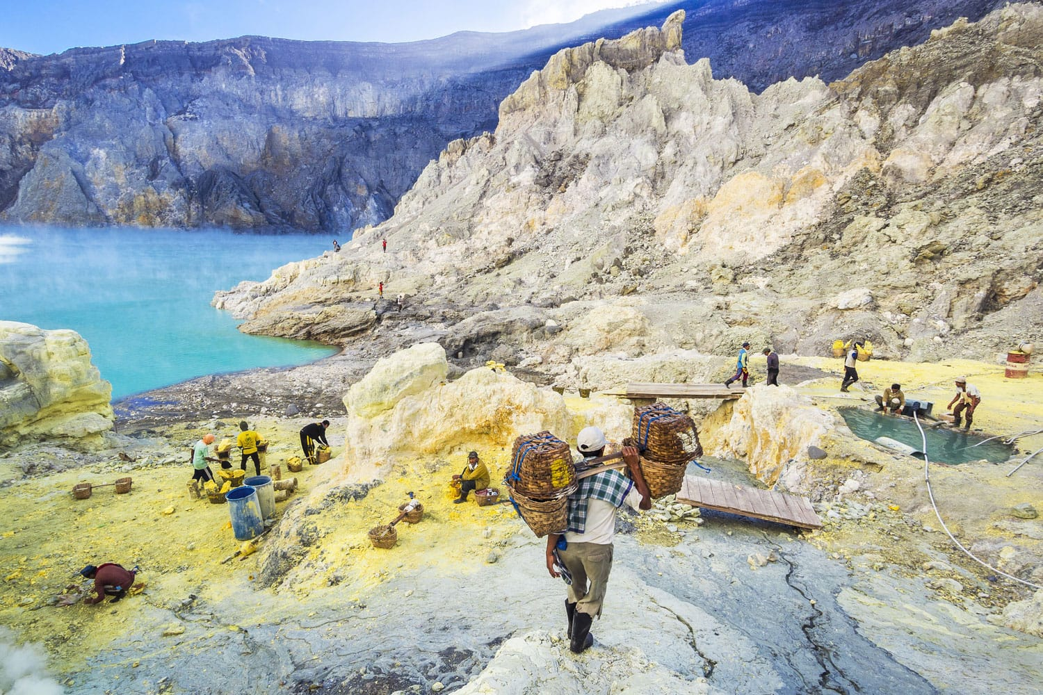 popular trekking destination in indonesia is ijen crater