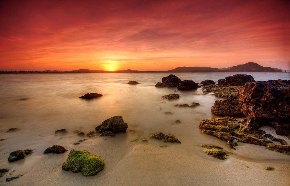 tanjung aan sunrise