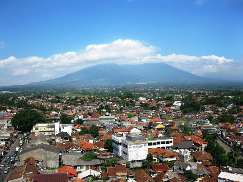the beautiful city of bogor