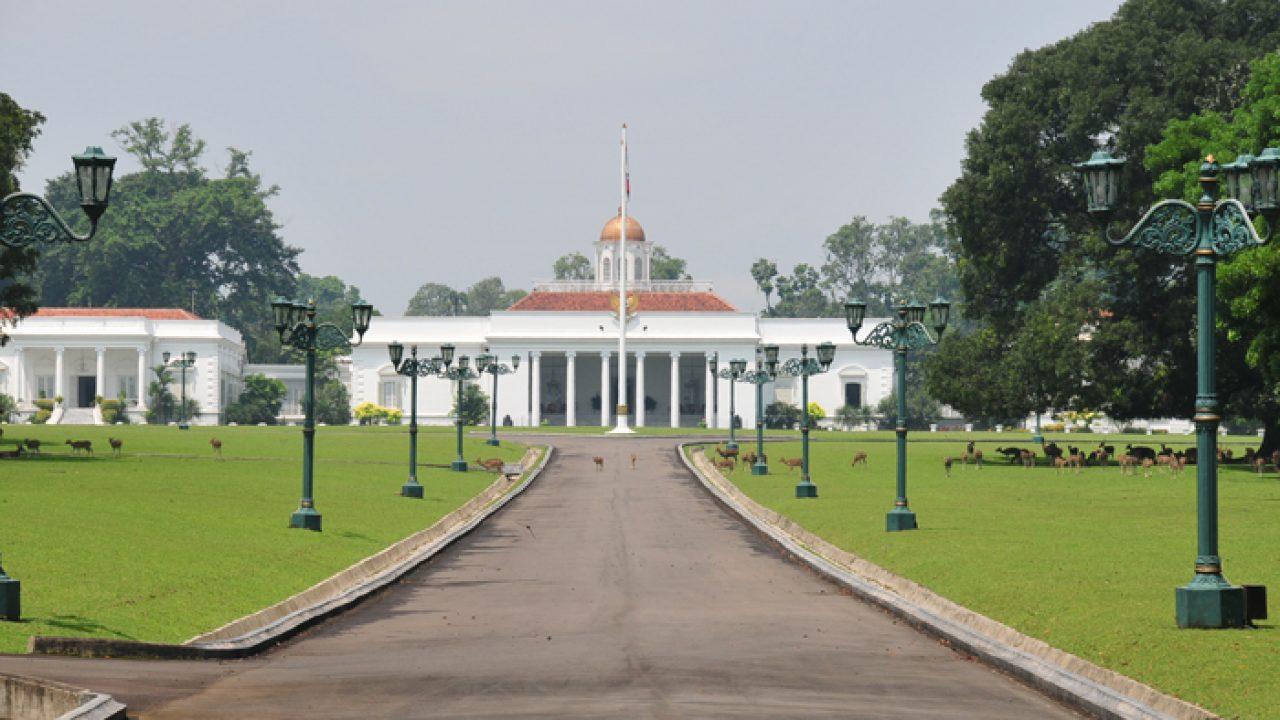 bogor historical palace in bogor regency