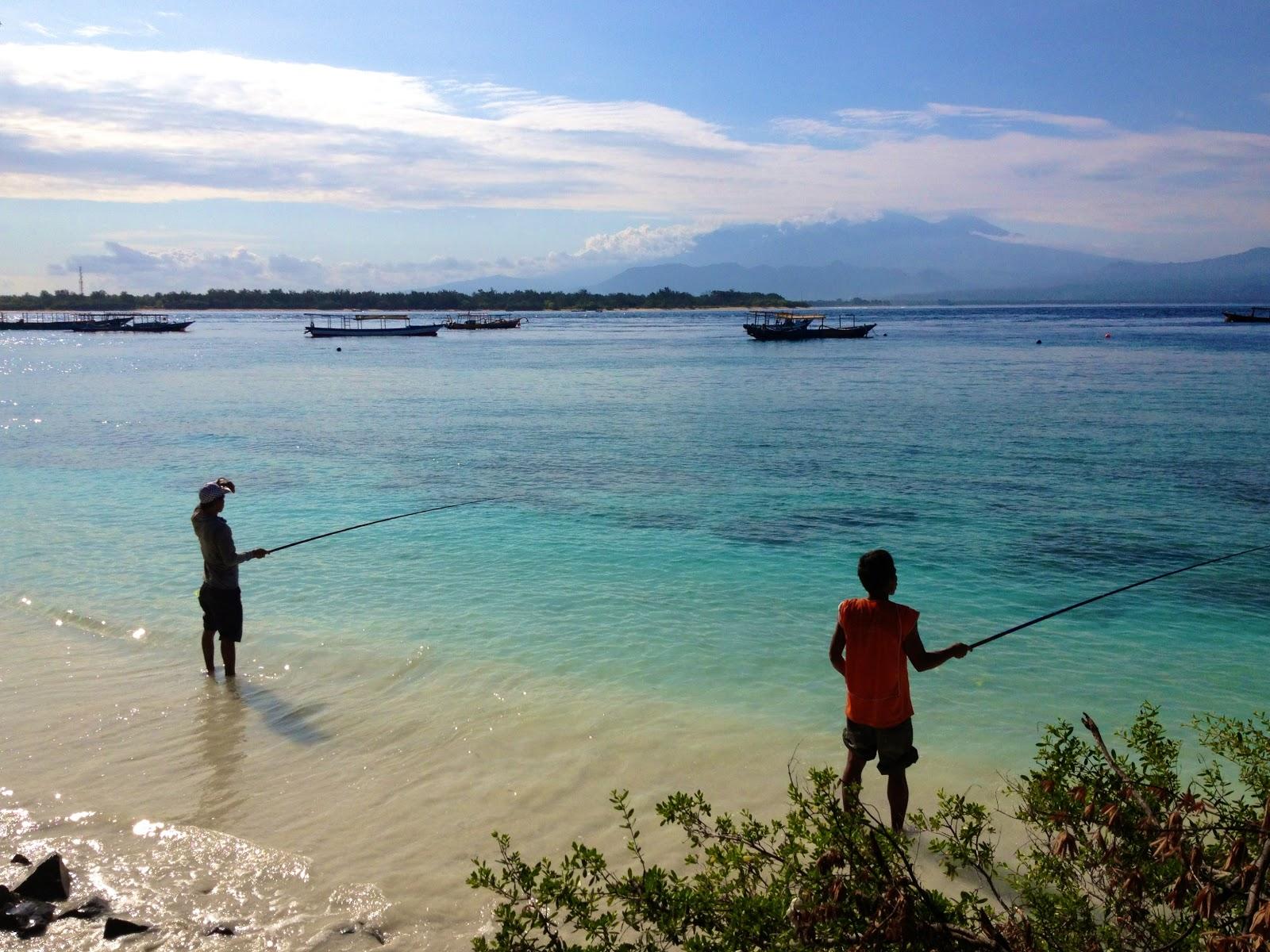 fishing in gili nanggu