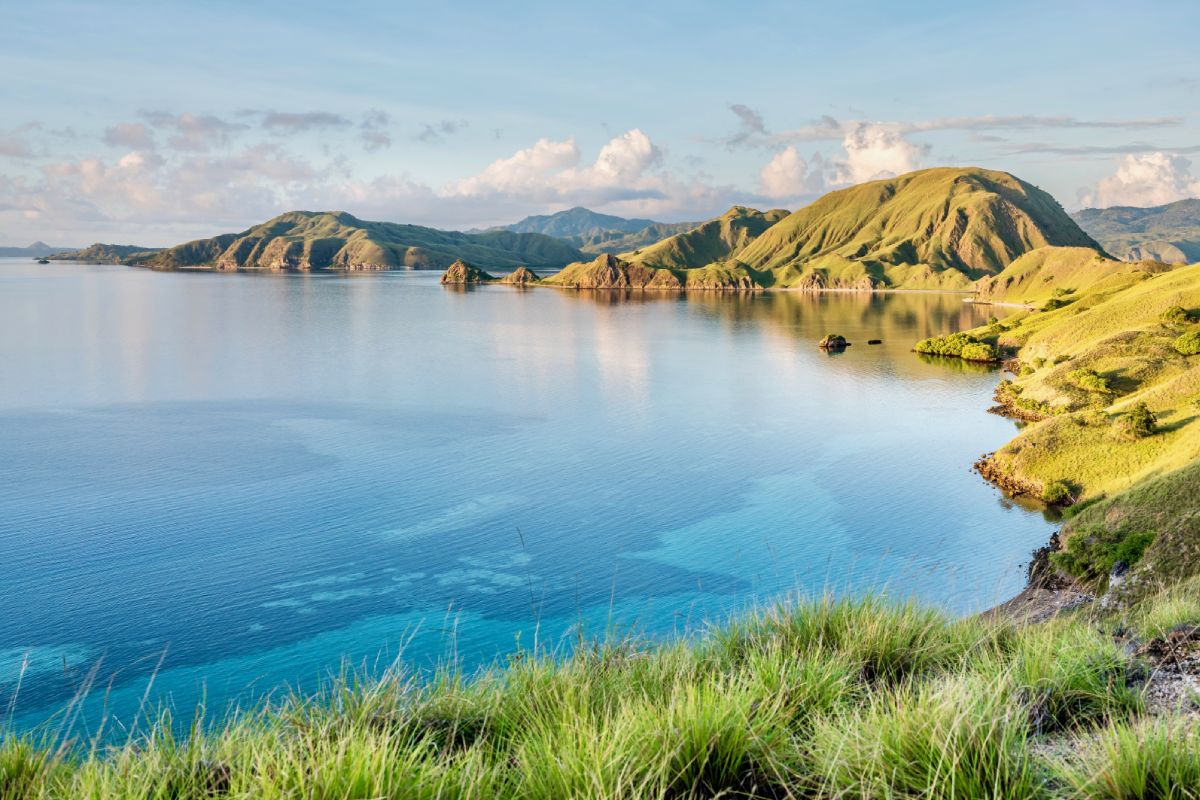 rinca island near padar island labuan bajo