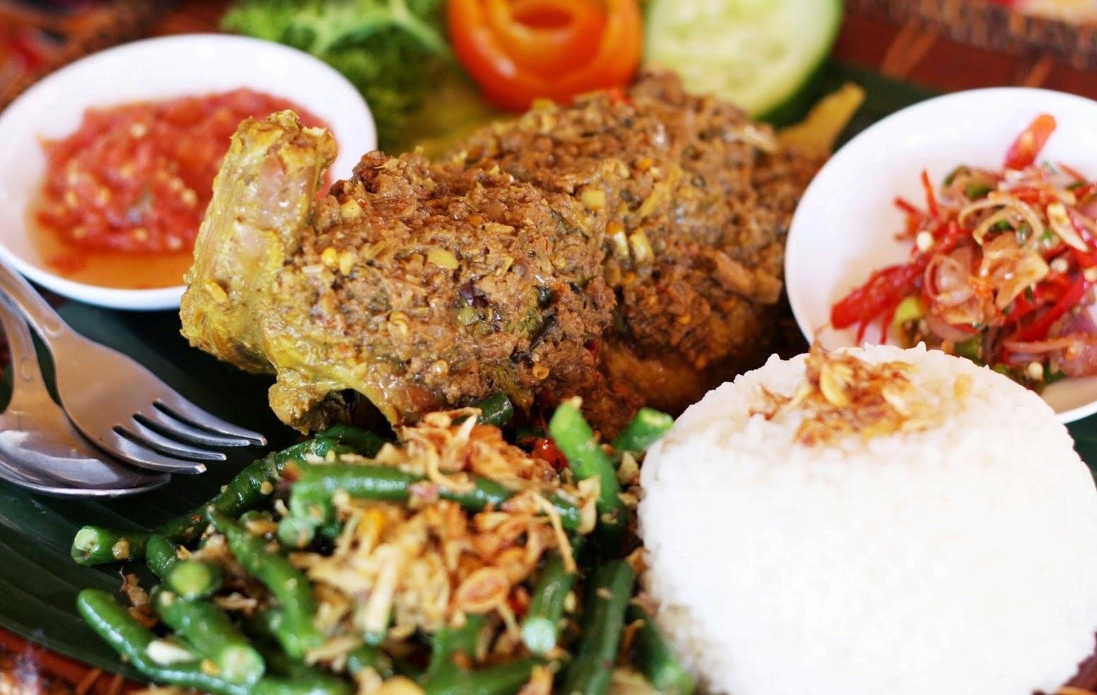 Betutu Duck or Balinese Roast Duck is one of Balinese food