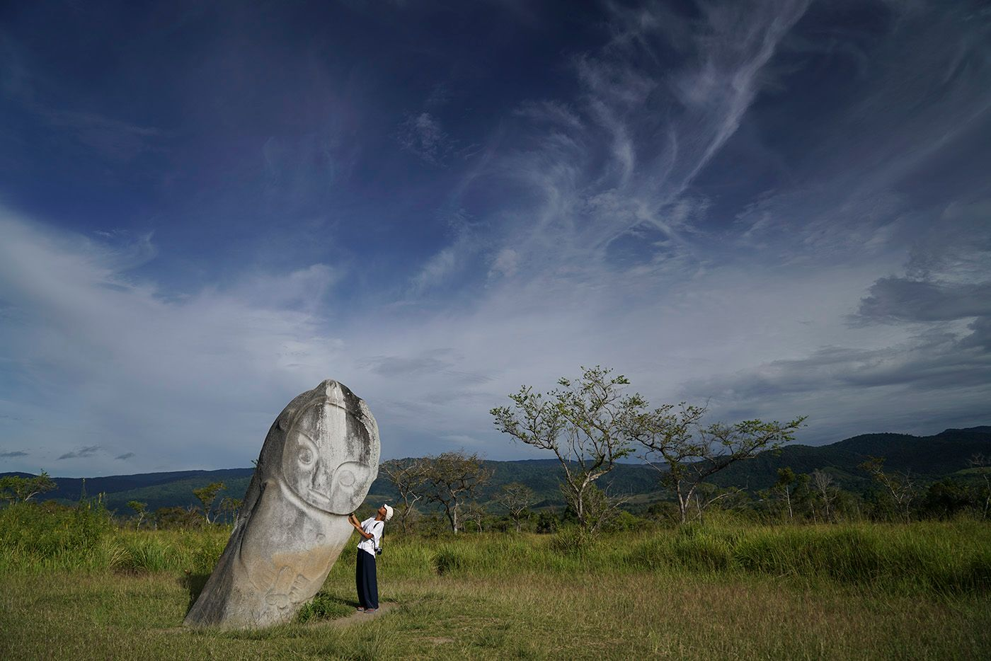 Lore Lindu National Park is located in Central Sulawesi Indonesia