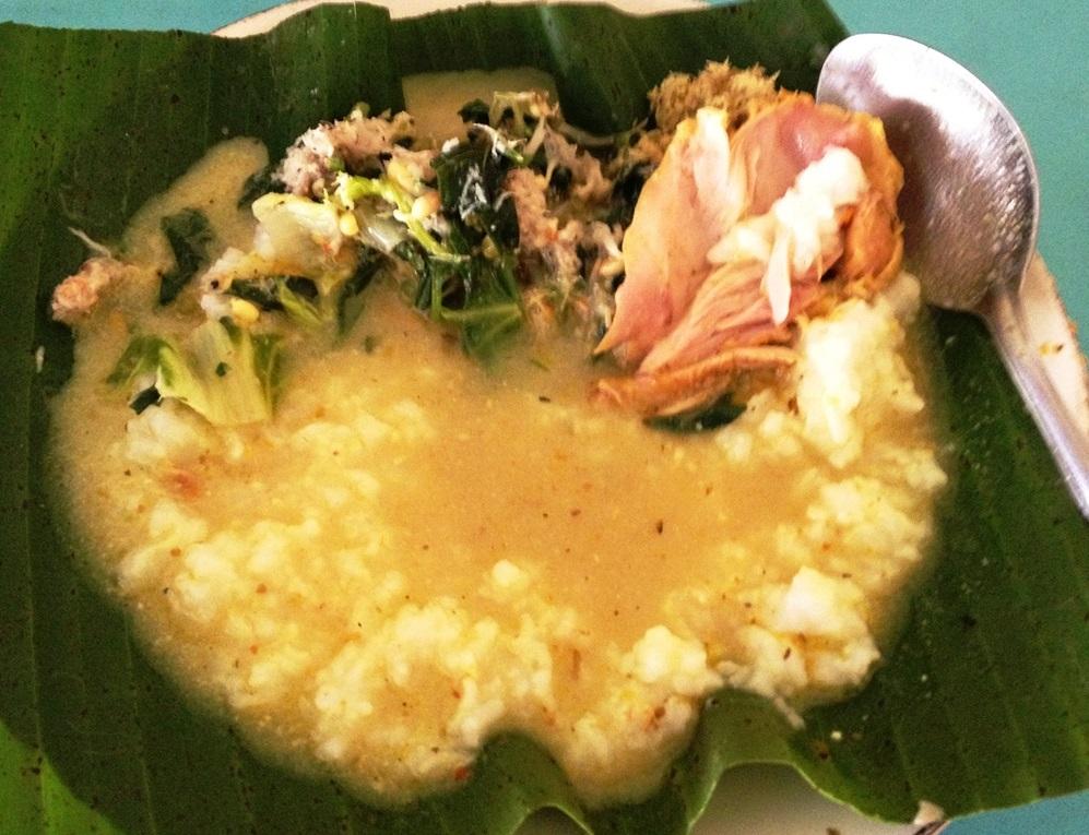 Mengguh is a porridge similar to cereal
