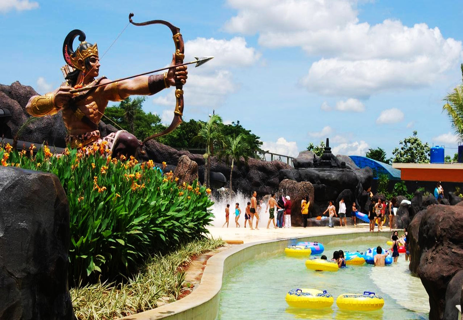 The next Indonesia best waterpark is Pandawa Water World