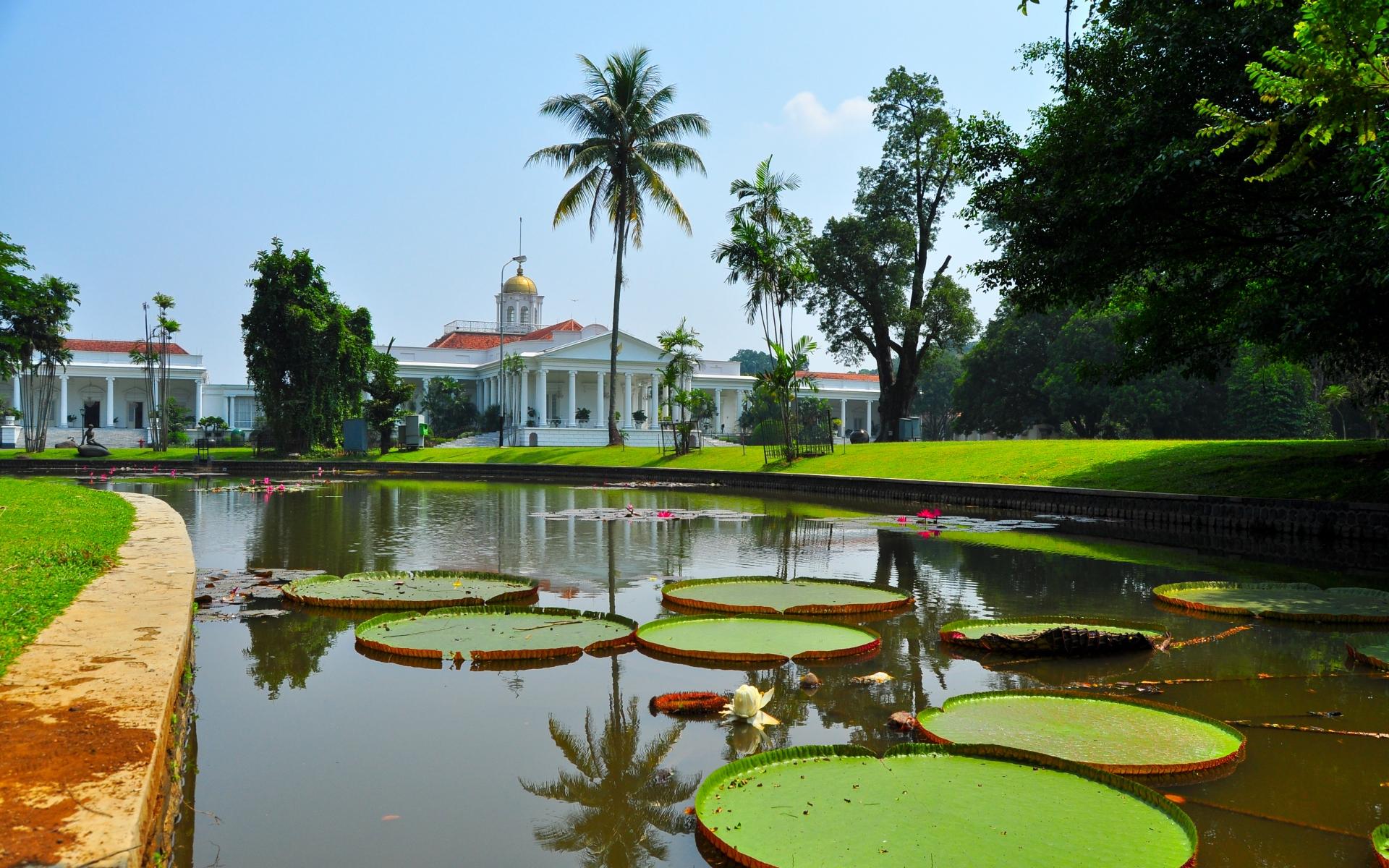 bogor botanical garden as tourist attraction