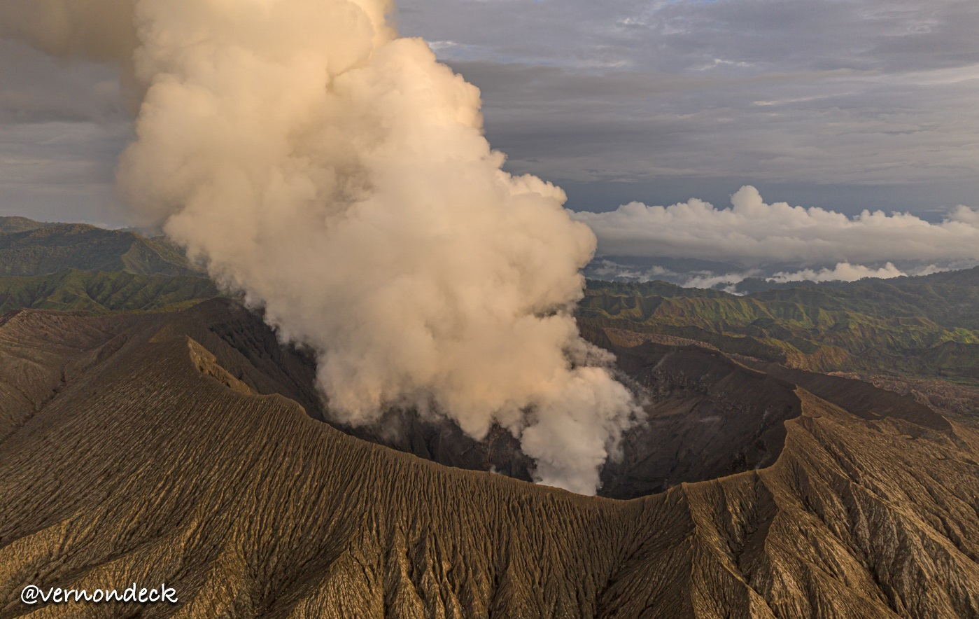 dukono is the most active volcano