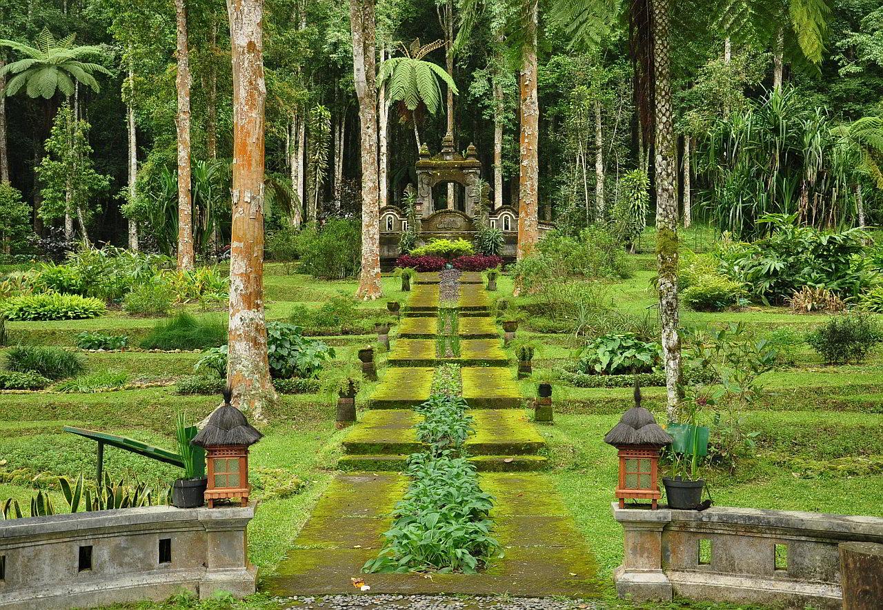 eka karya botanical garden in bedugul bali