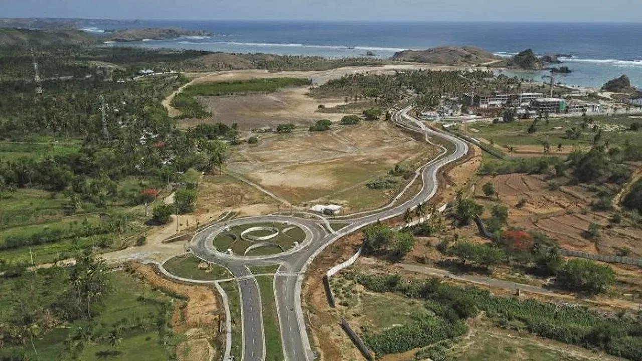 mandalika motogp circuit is under development