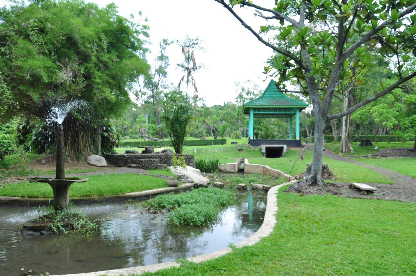 purwodadi botanical garden in east java