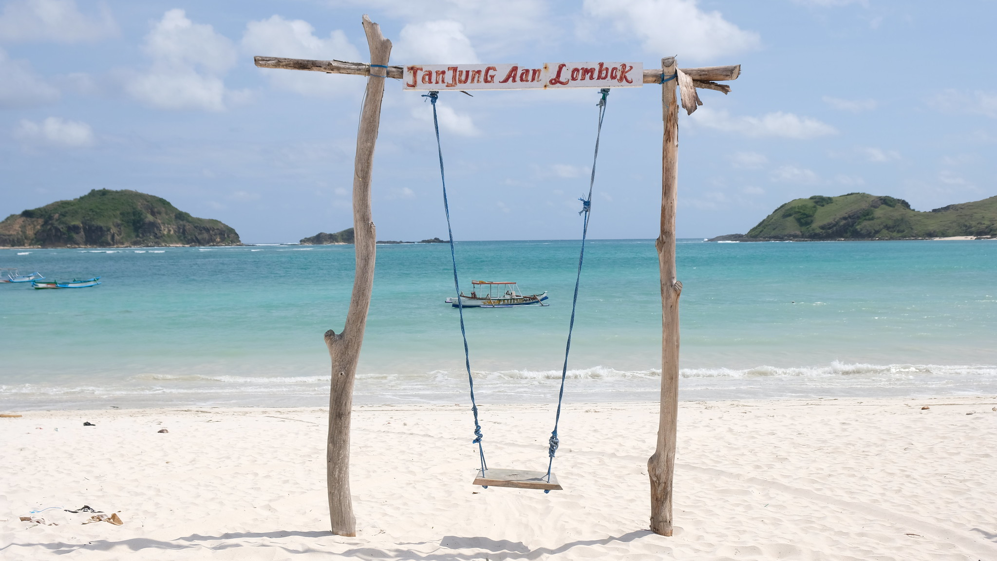 tanjung aan beach where the bau nyale festival in lombok shall be held