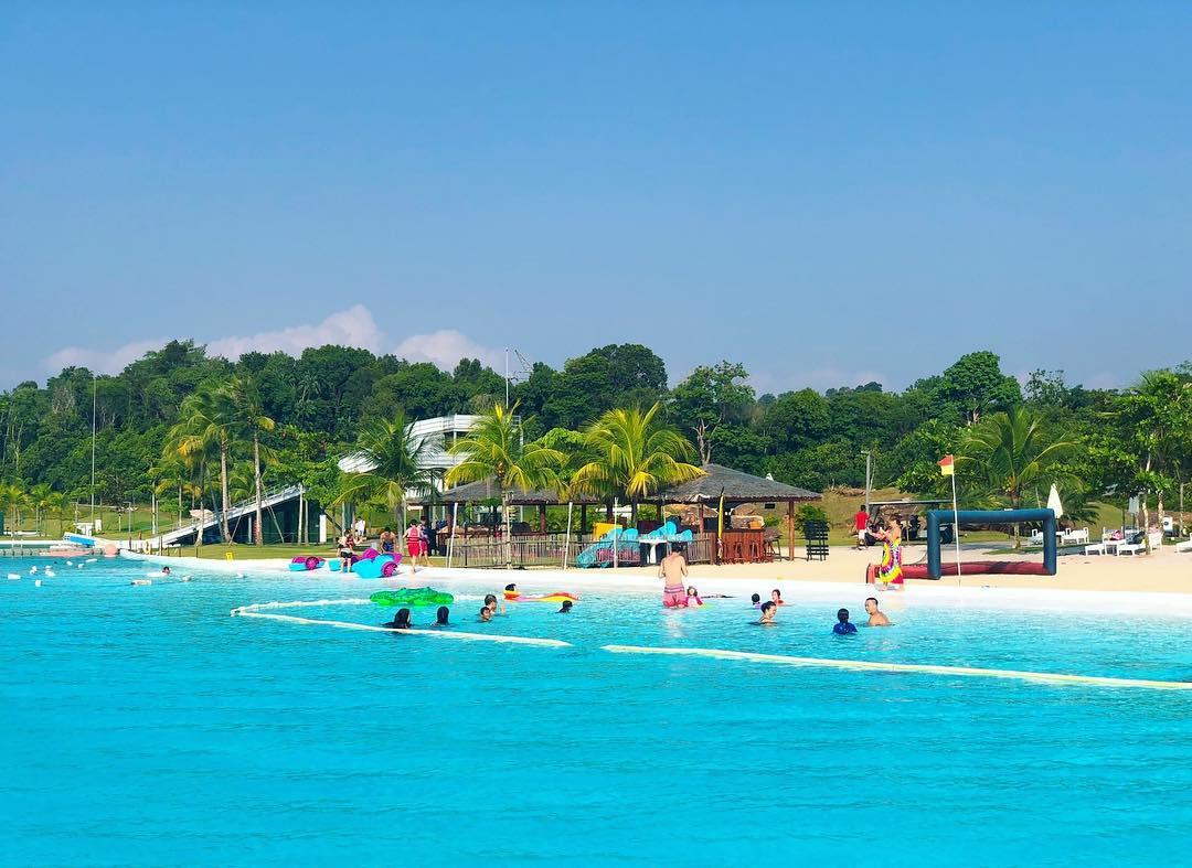 treasure bay theme park in riau island