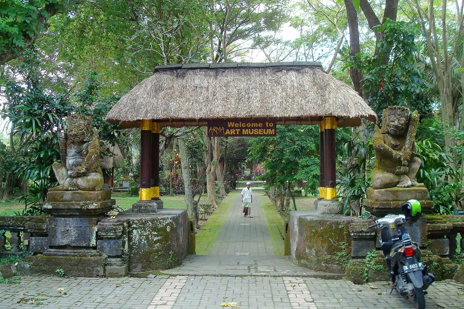 Agung Rai Museum is one of the fine arts museums in Bali
