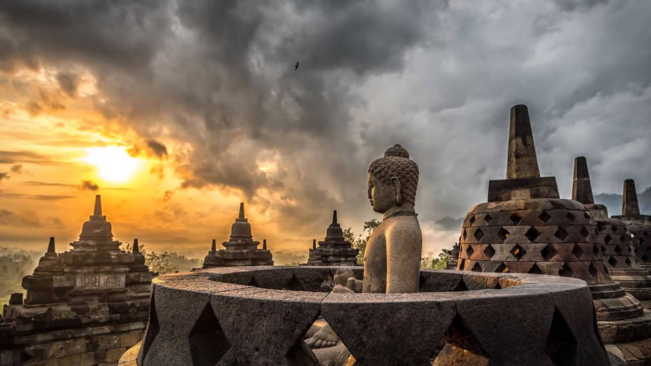 Borobudur is the Biggest Buddhist Temple in the World