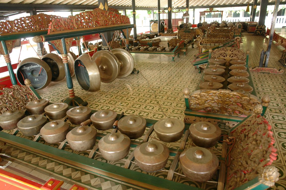Gamelan is a combination of several musical instruments