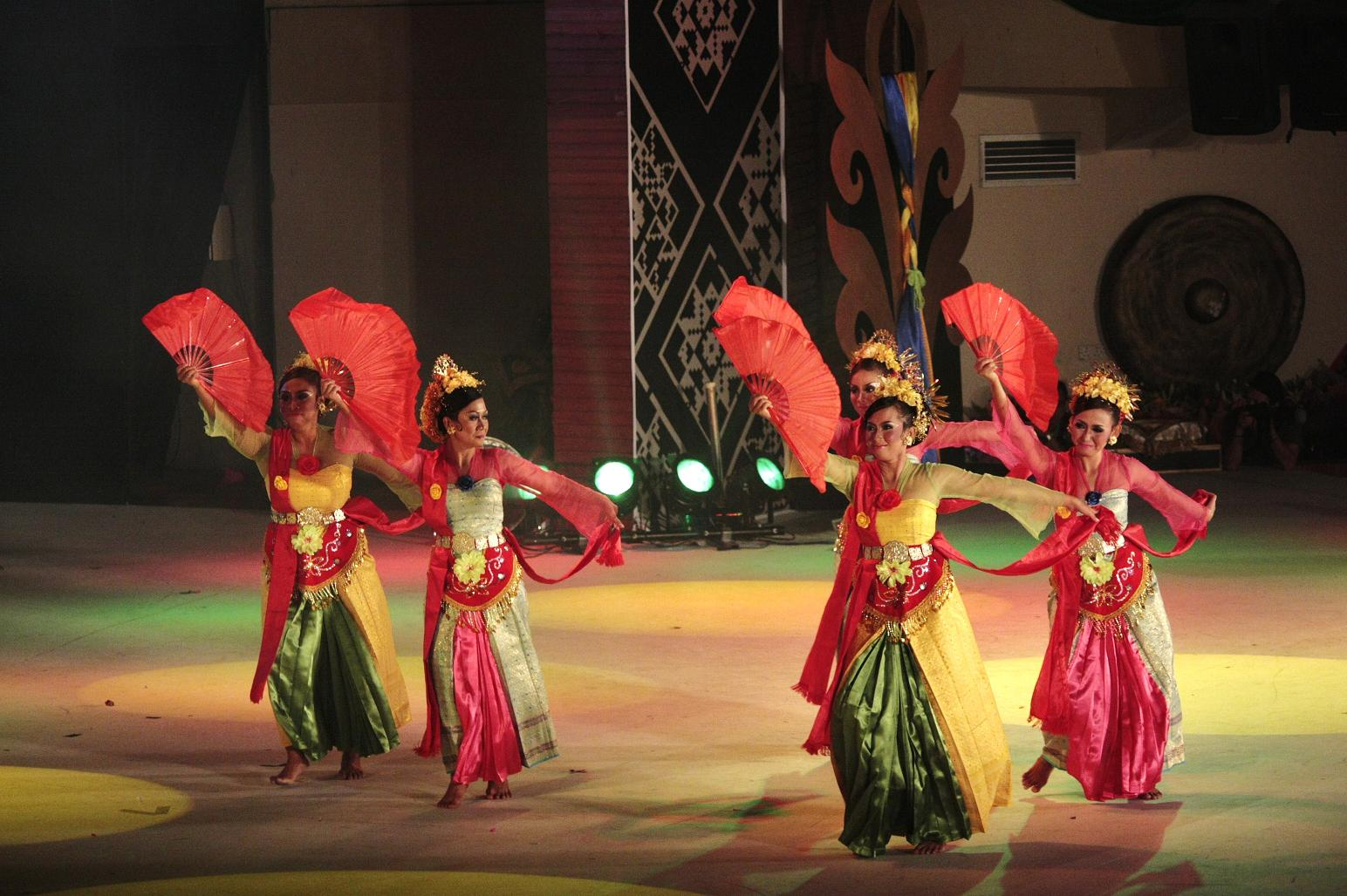 Jaipong is a traditional dance used by the community to mingle