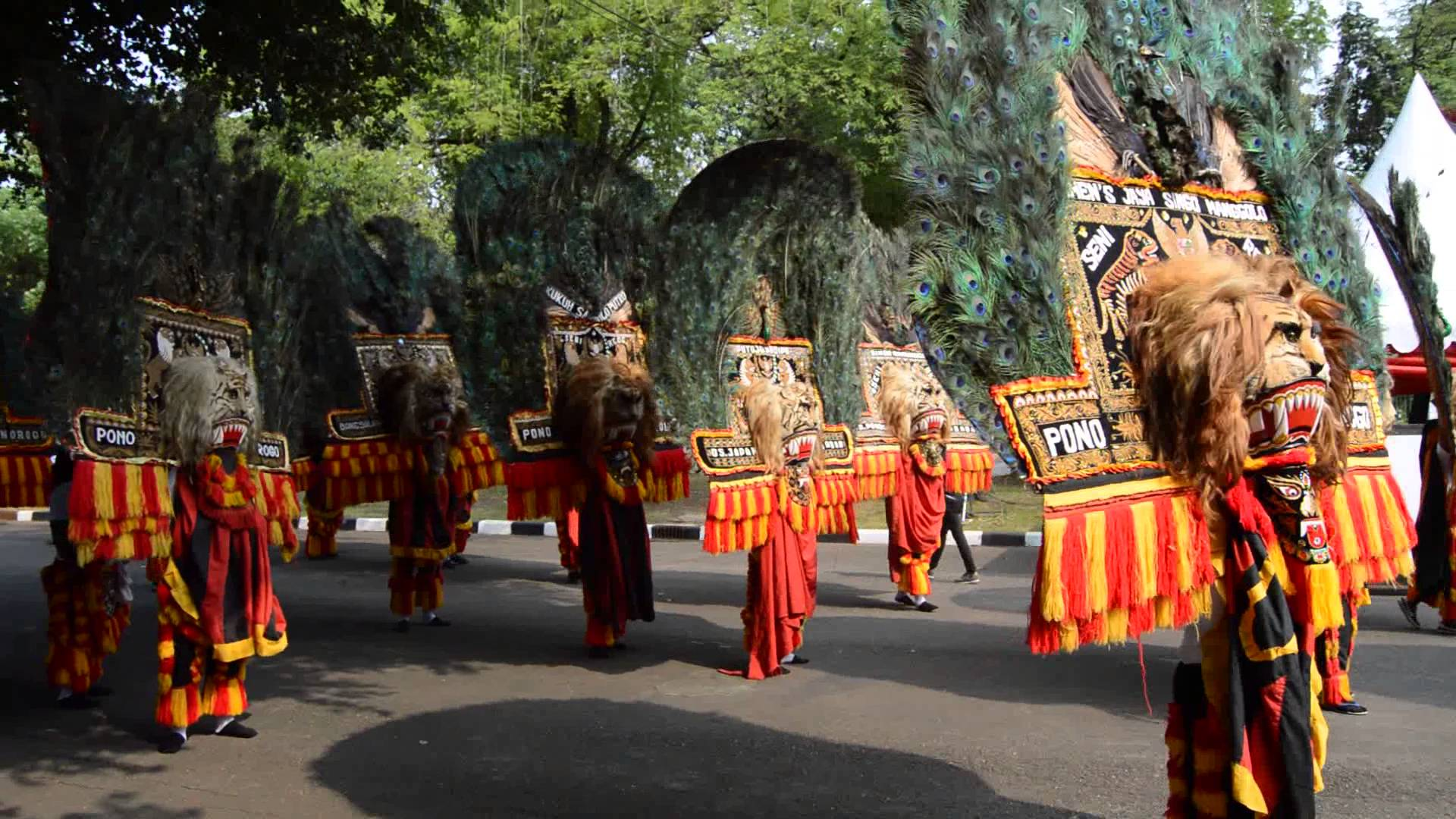 Reog Dance is one of the regional cultures in Indonesia