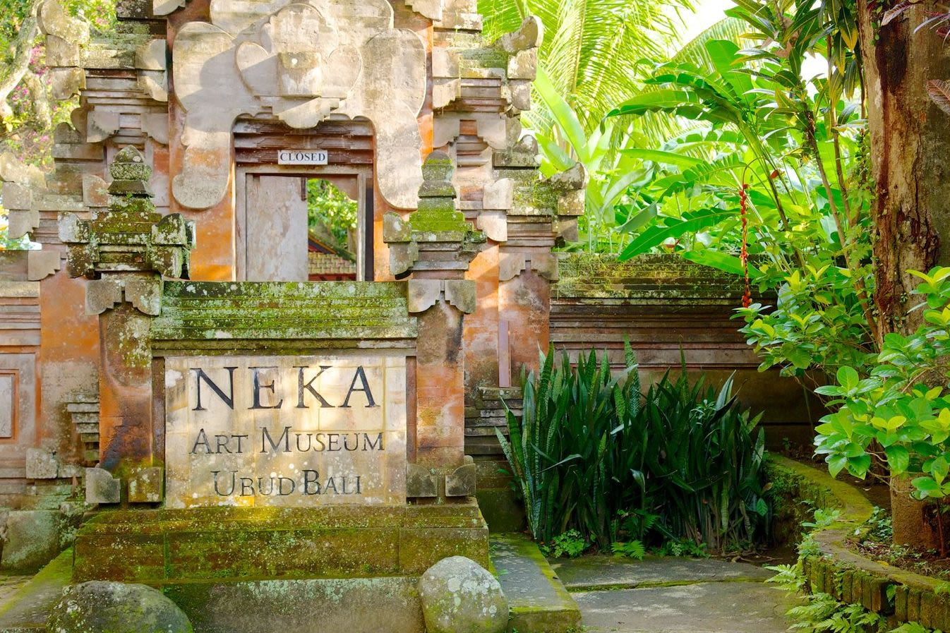 The Neka Art Museum in Ubud Bali