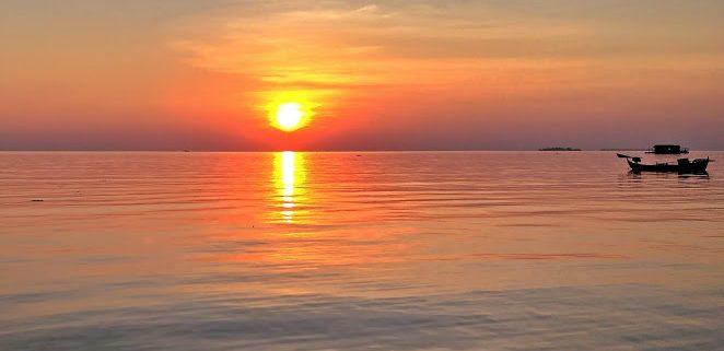 tanjung gelam sunset