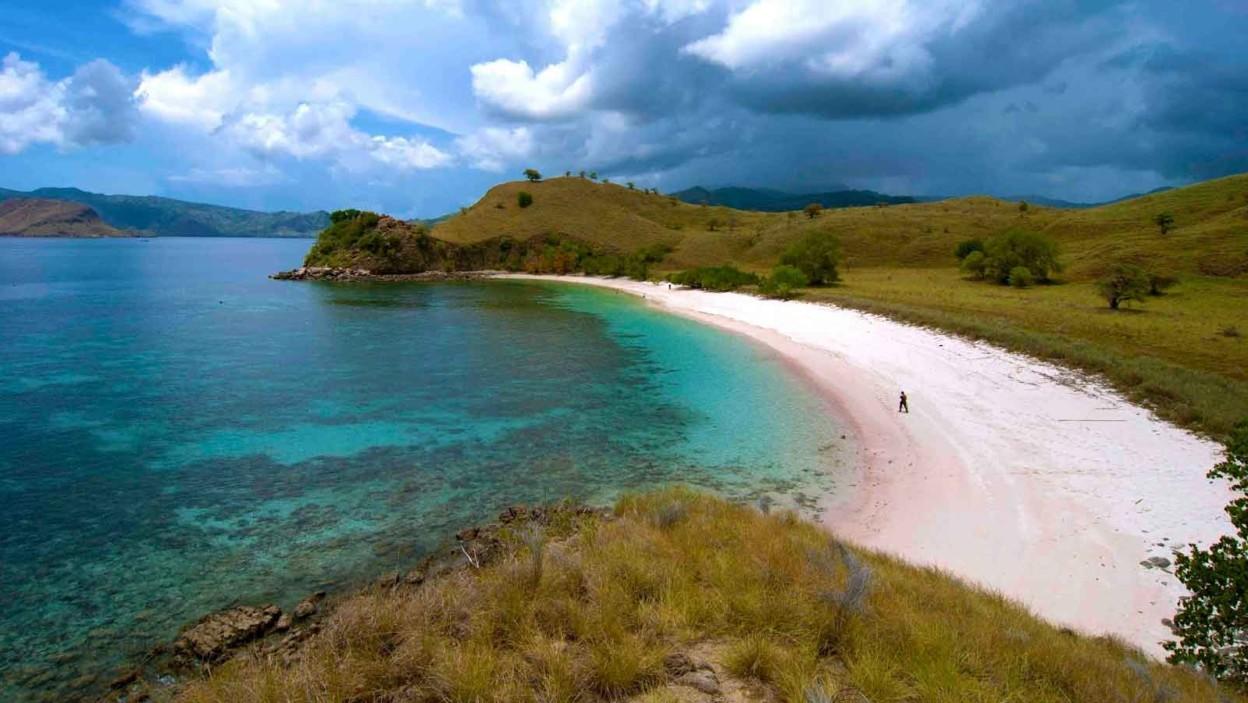 koka beach is one of stunning beaches in east nusa tenggara indonesia