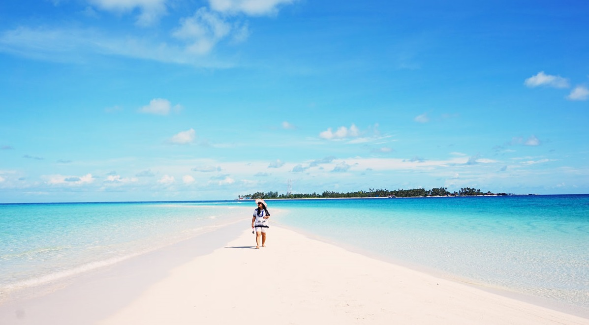 White Sand Beaches of Derawan Islands