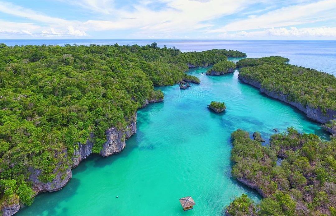 Bair island is a beautiful place to visit in Maluku