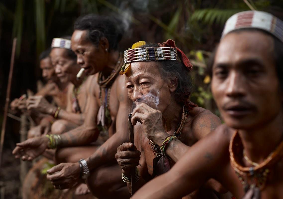 kayan mentarang is home to around 27 thousand dayak people