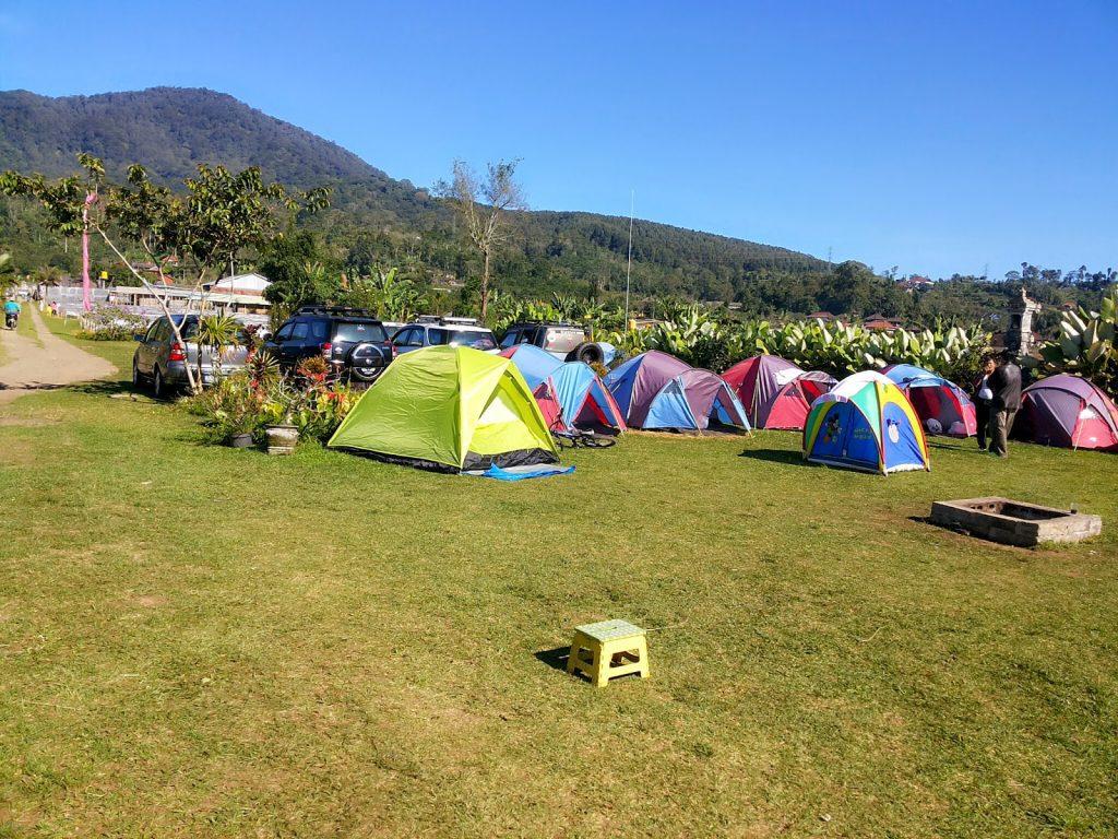 camping site in buyan lake