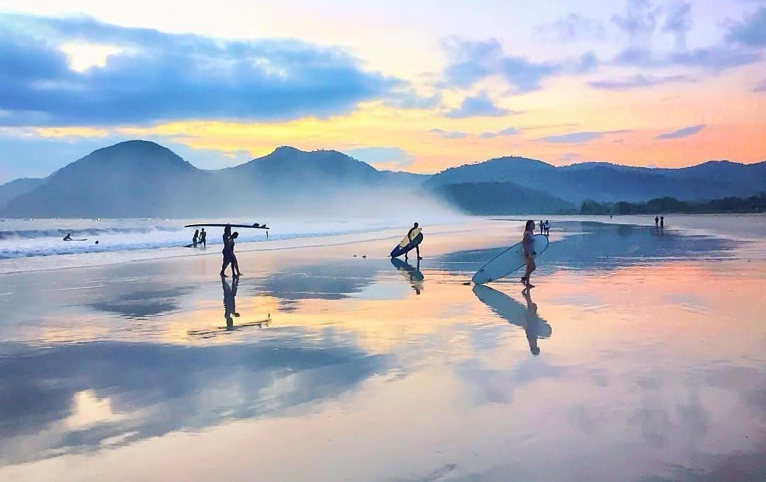 selong belanak is surfer heaven for beginners