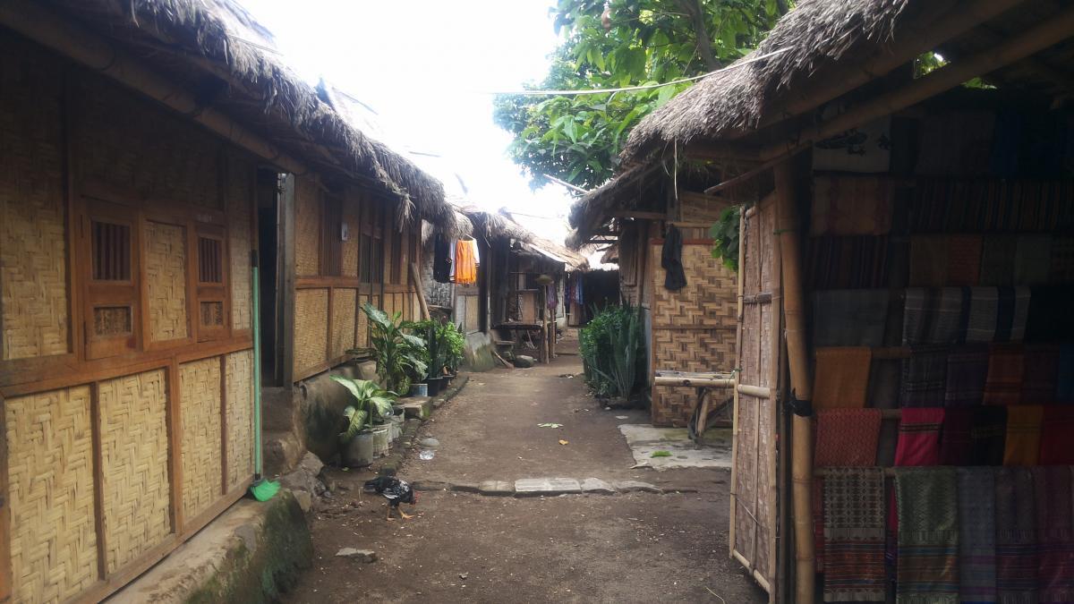 Earthquake resistant houses of sasak in lombok