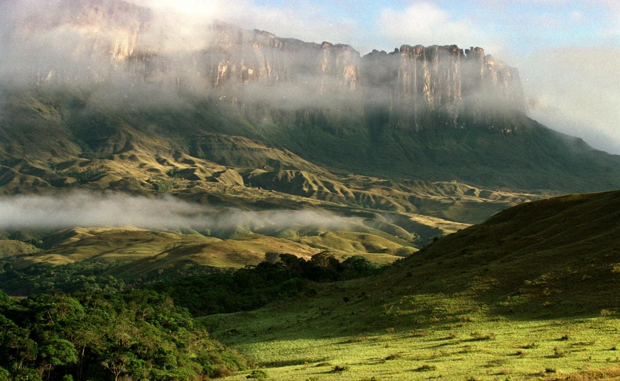 Lorentz National Park in west papua