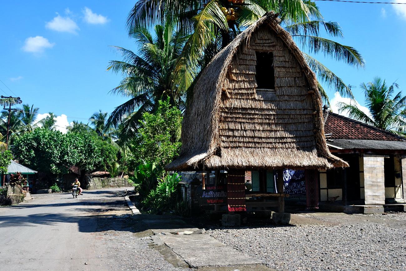 The Way to Sukarara Tourism Village of Lombok