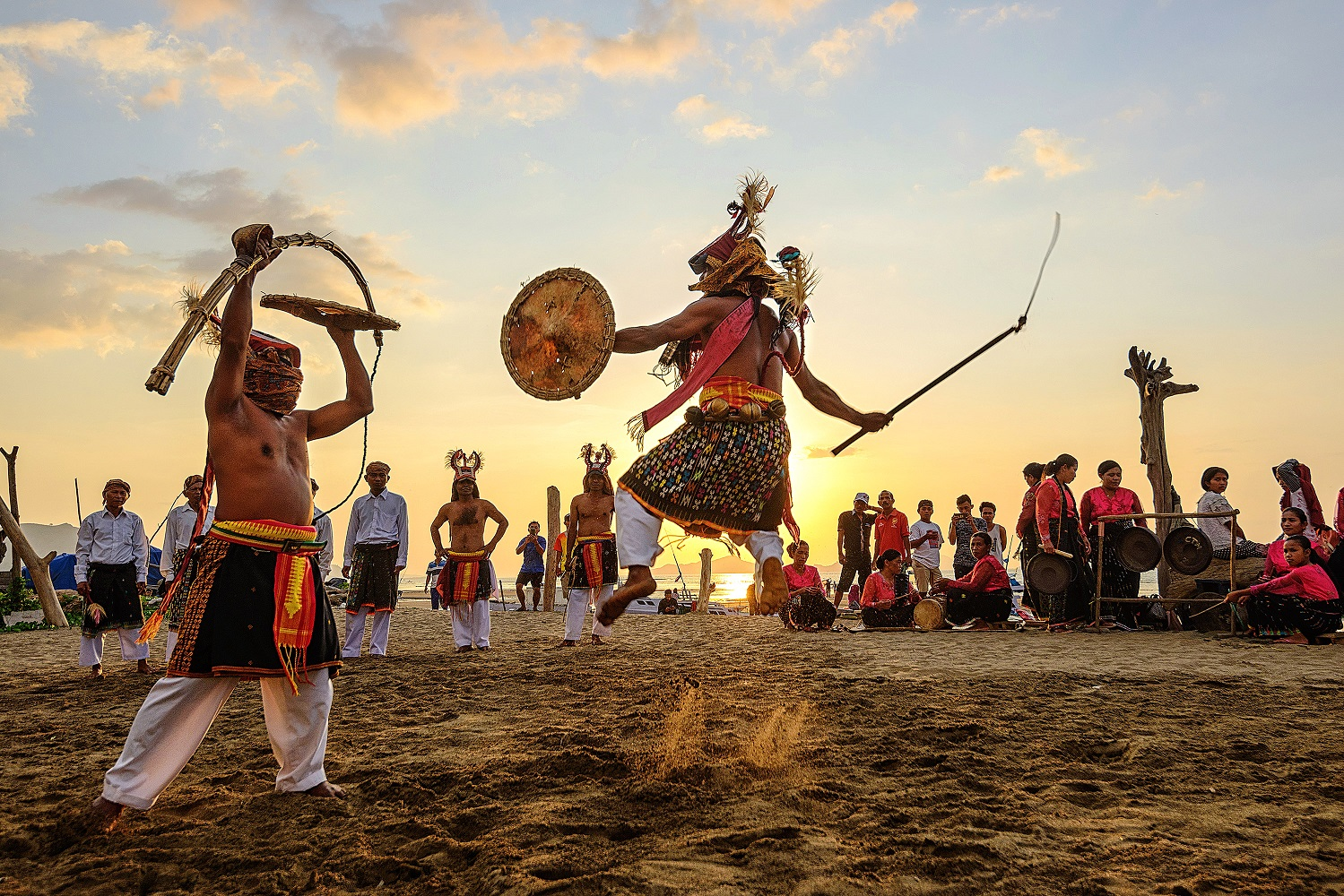 Witness the Caci Cambuk War Dance in Flores