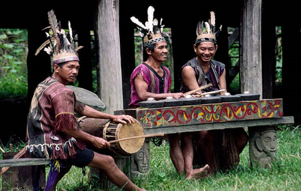 betung kerihun national park is inhabited by mostly Dayak tribe
