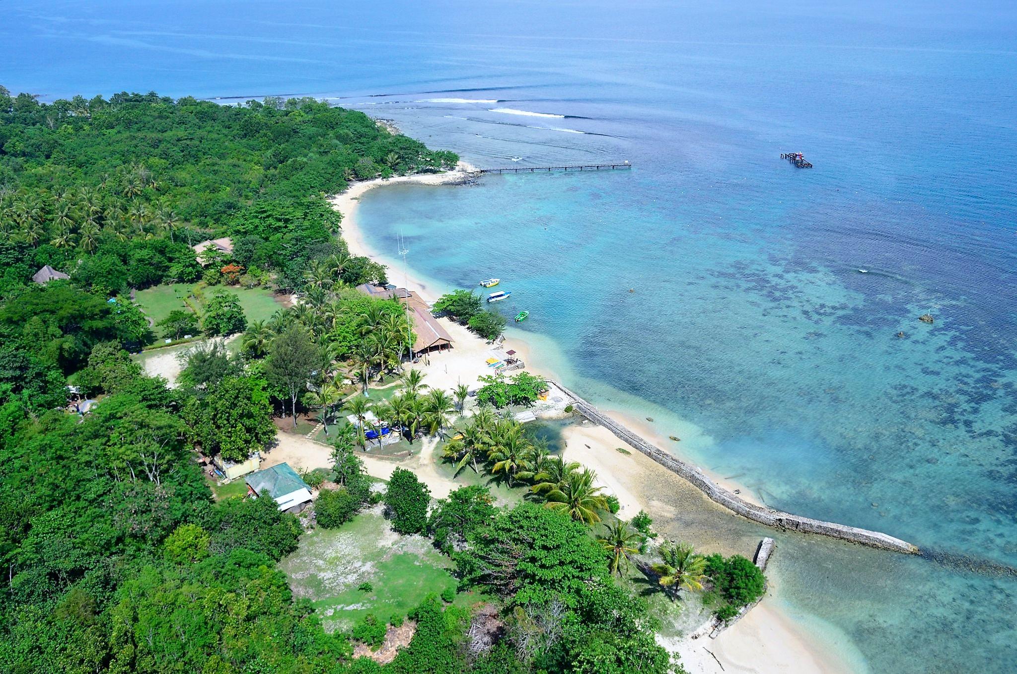 tanjung lesung offers a beautiful natural panorama for honeymooners
