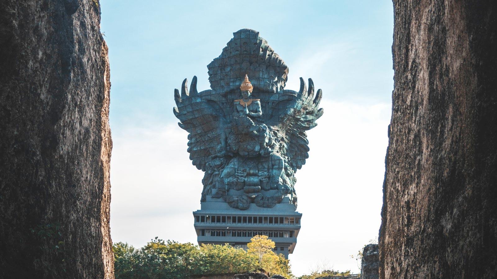The Garuda Wisnu Kencana (GWK) statue