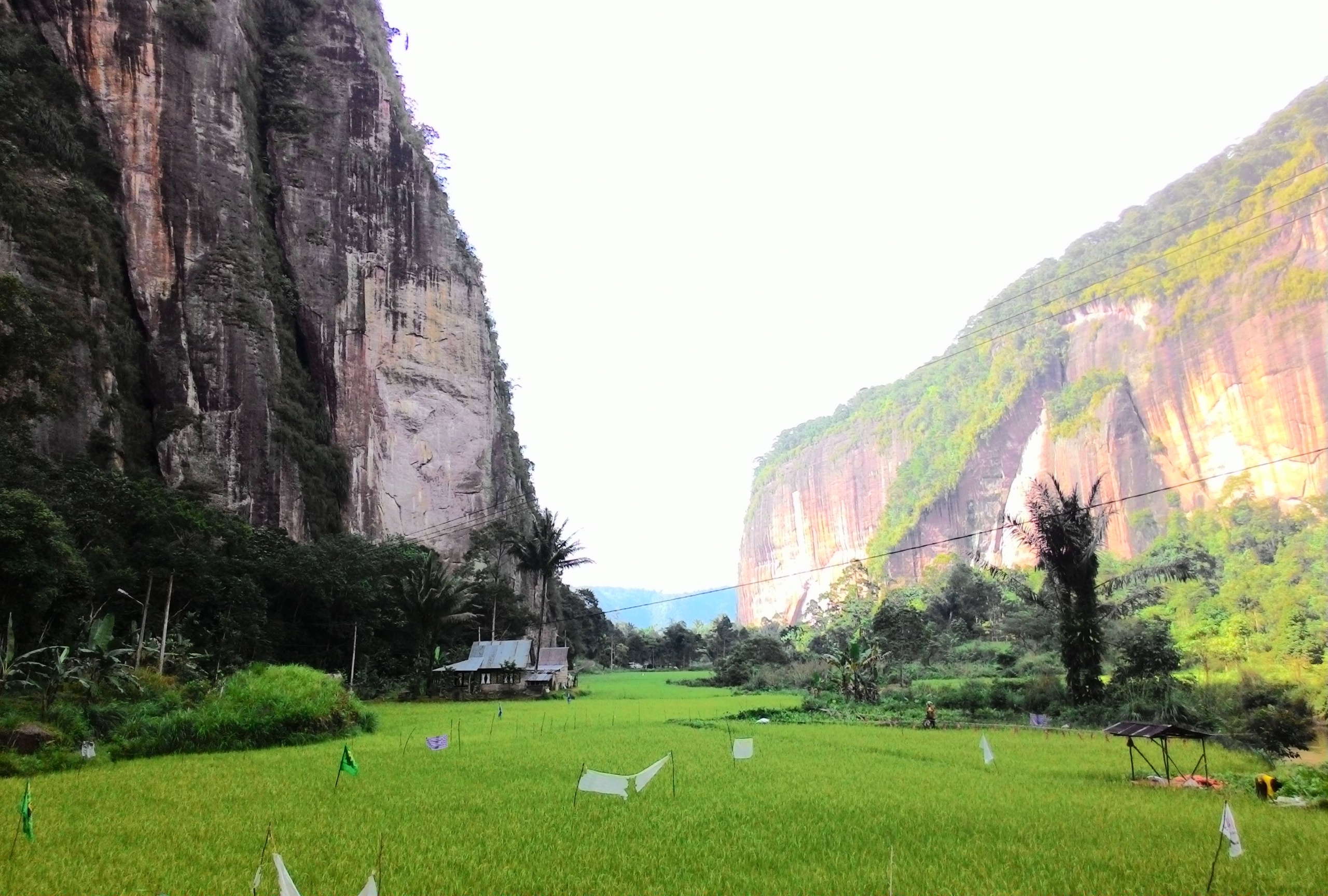 the amazing view of harau valley