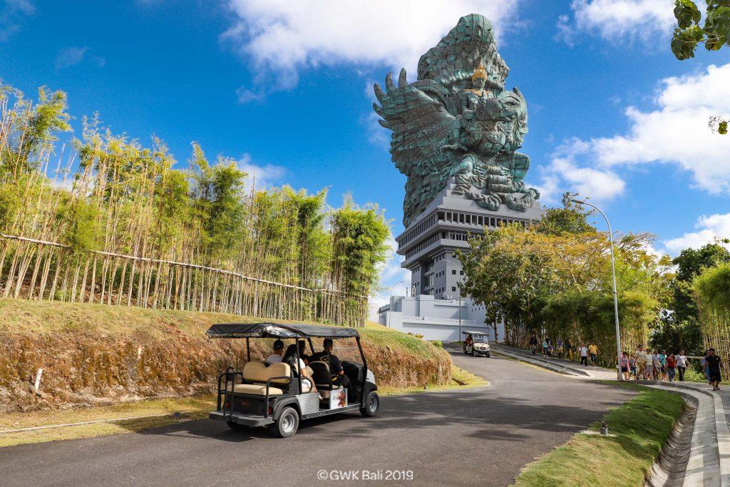 the great gwk statue in bali